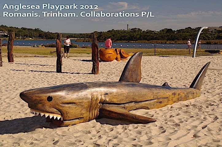 Anglesea Playpark shark
