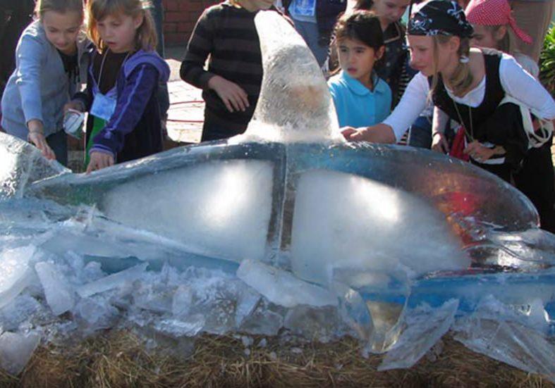 Mark Trinham Ice Sculpture